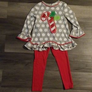 Candy cane outfit!